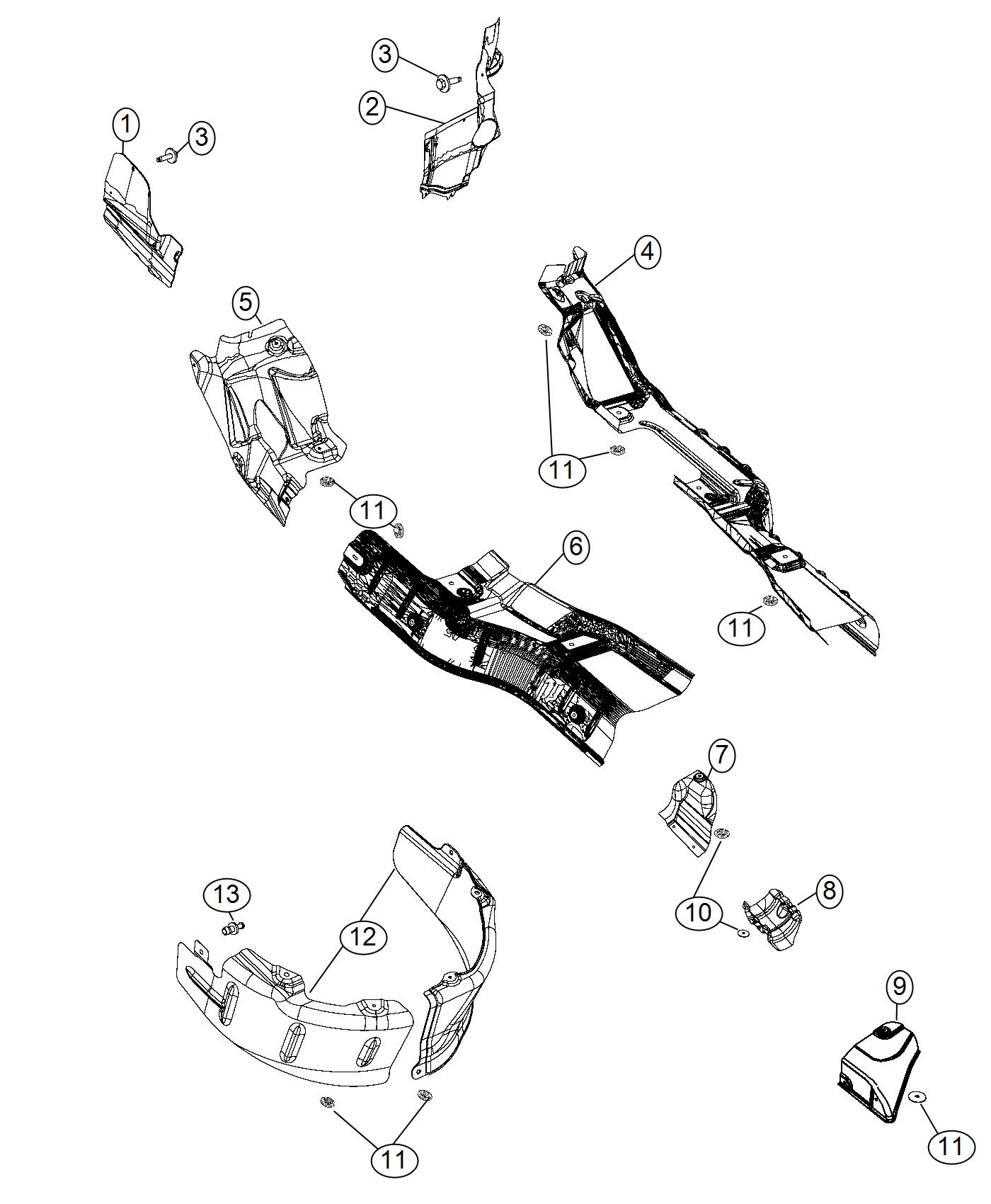 I on 2002 Dodge Durango Exhaust System Diagram