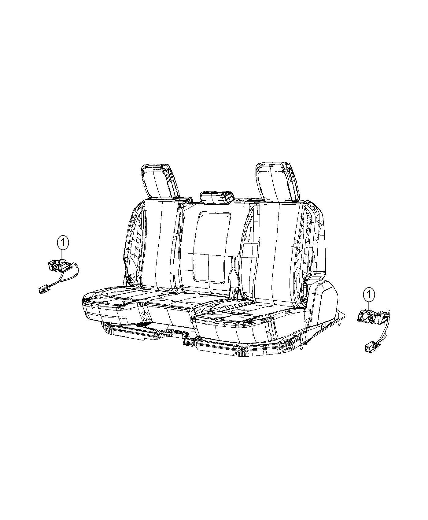 Ram 1500 Wiring  Rear Seat
