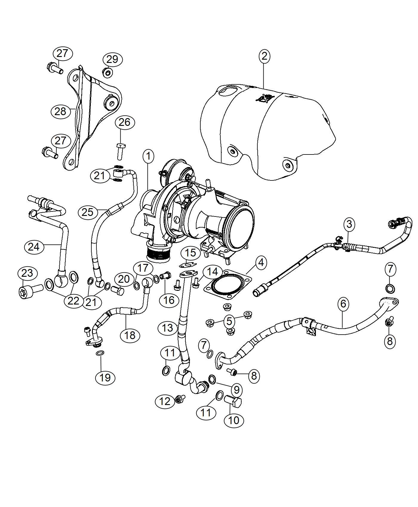 2017 Fiat 500 Abarth Hatchback 1 4l Turbo I4 M  T O Ring