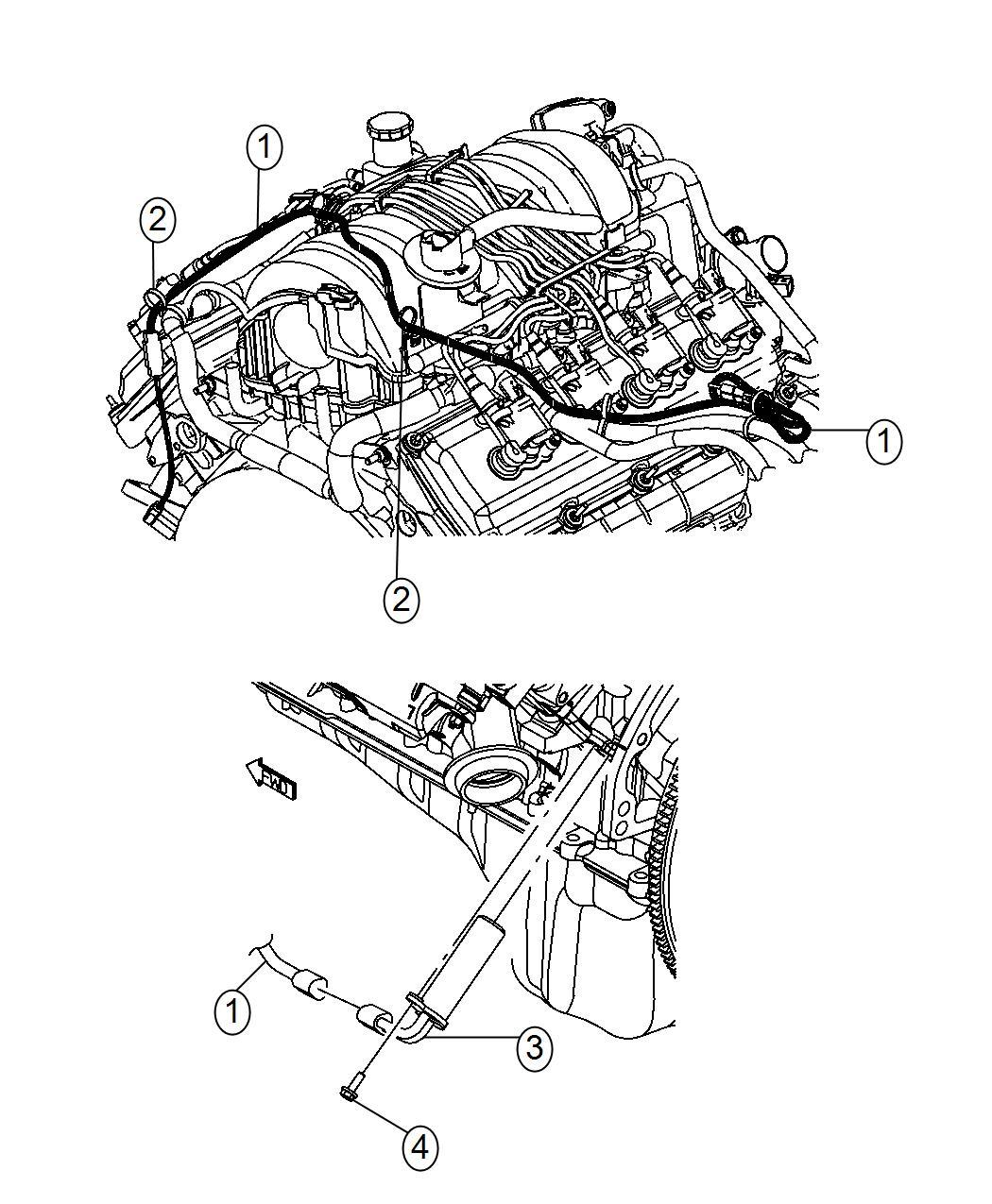 2015 dodge durango cord  engine block heater   ezh    nhk