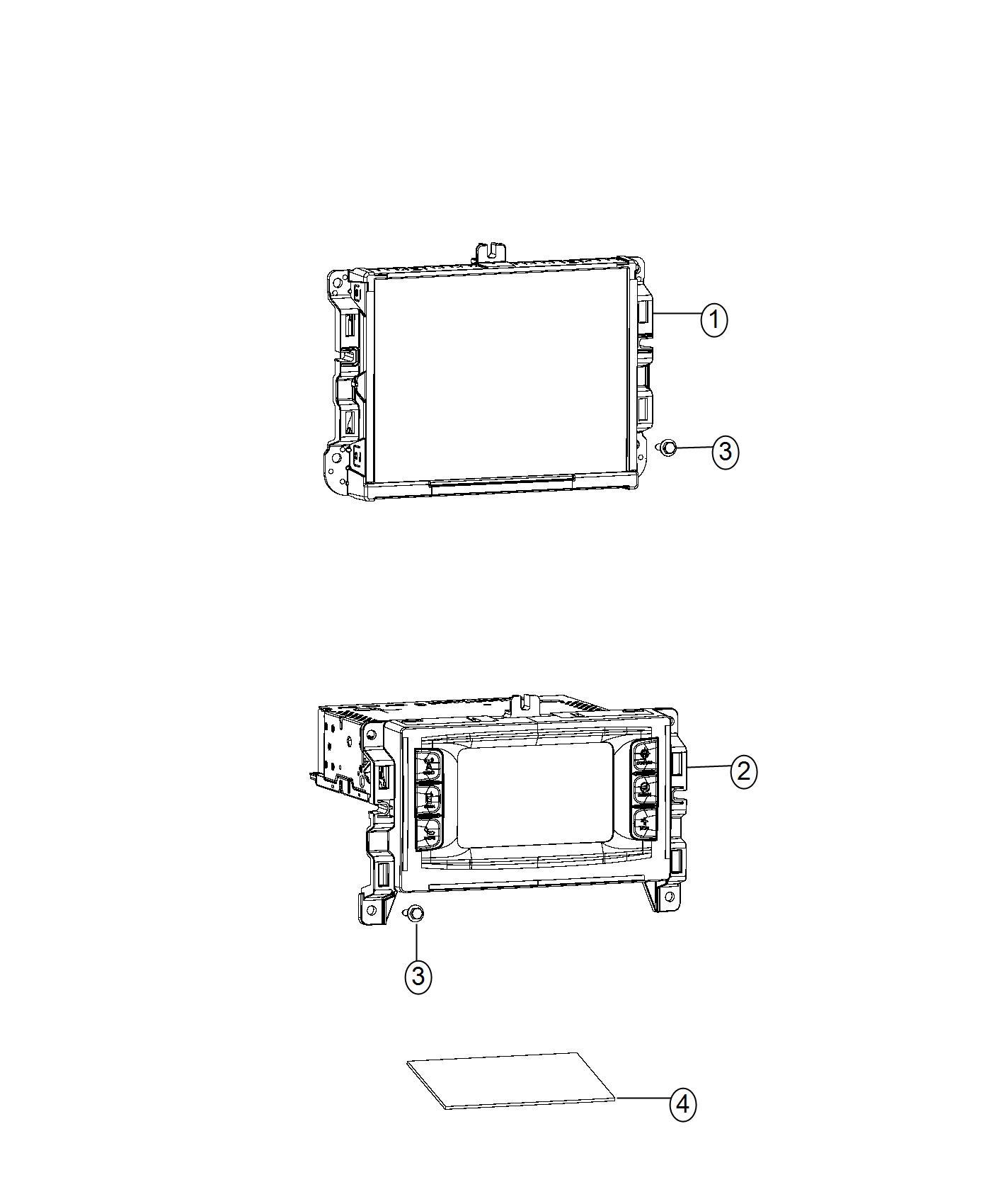 2017 chrysler 200 radio multi media instrument panel. Black Bedroom Furniture Sets. Home Design Ideas