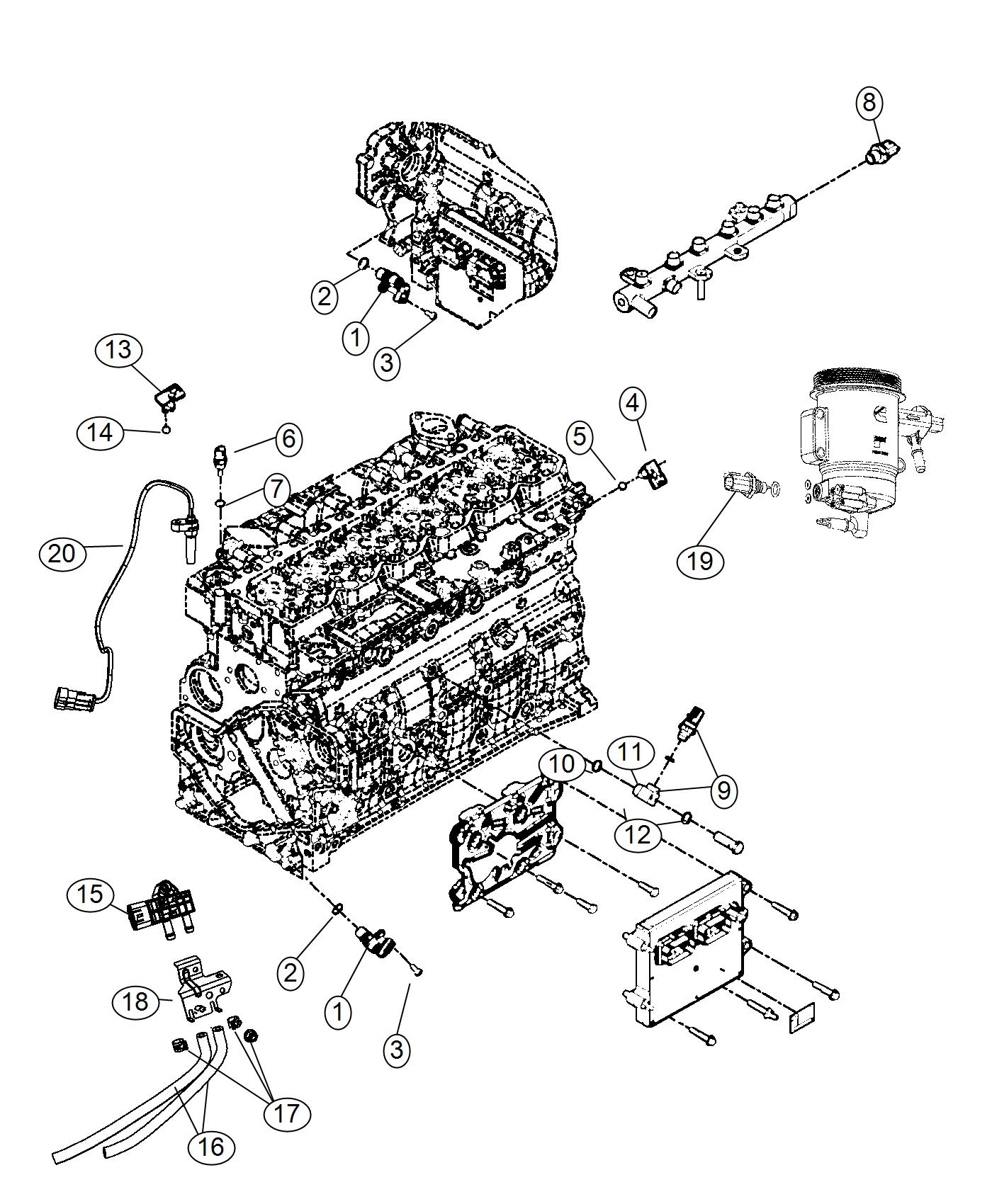 2011 dodge ram 5500 sensor speed sensor kit turbo speed. Black Bedroom Furniture Sets. Home Design Ideas