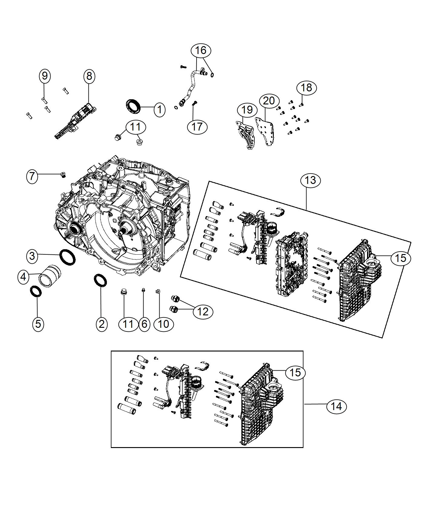 Jeep Compass Wiring. Transmission jumper. [4.30 rear axle ...