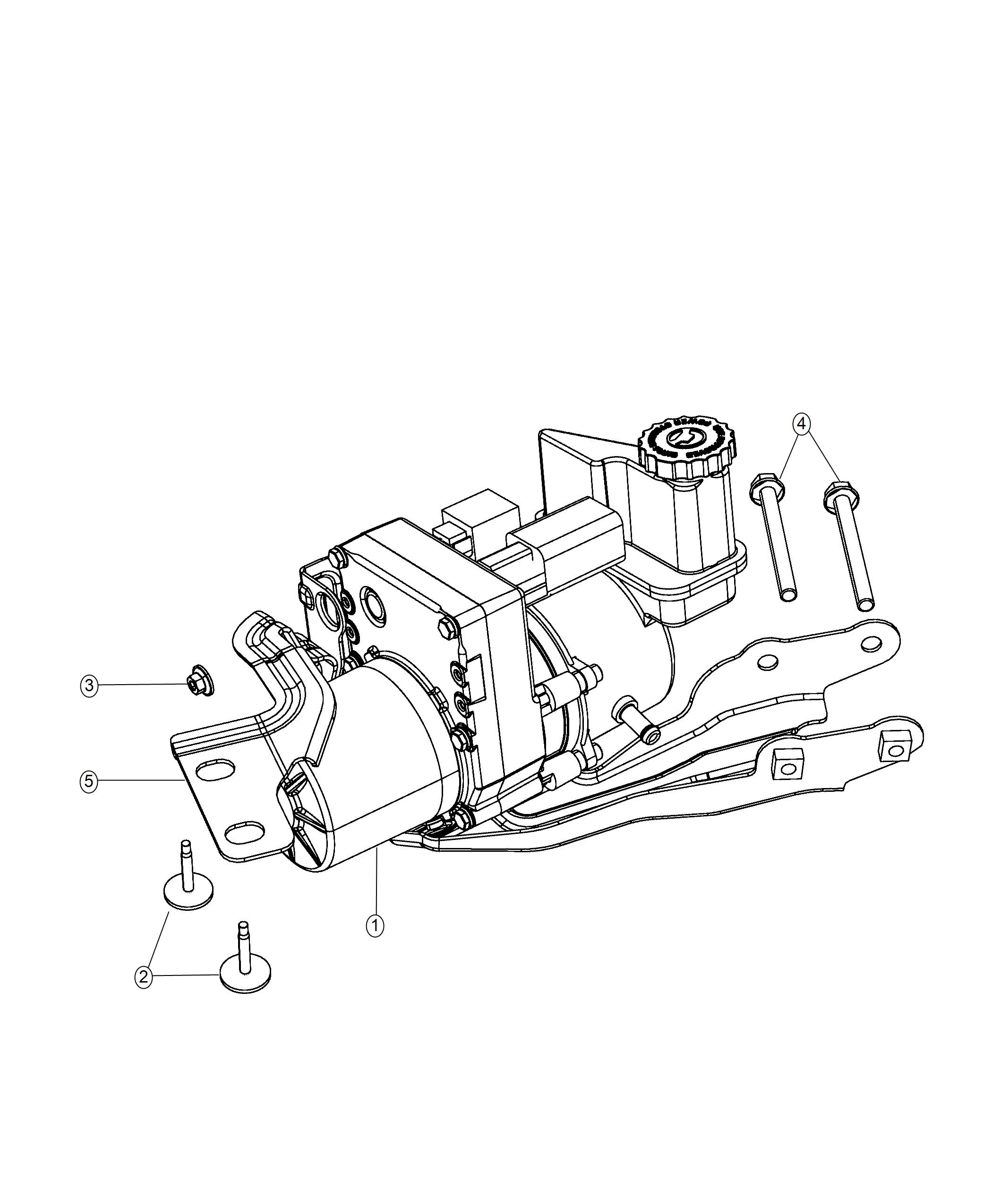 Dodge Charger Pump  Power Steering  Remanufactured  All Wheel Drive