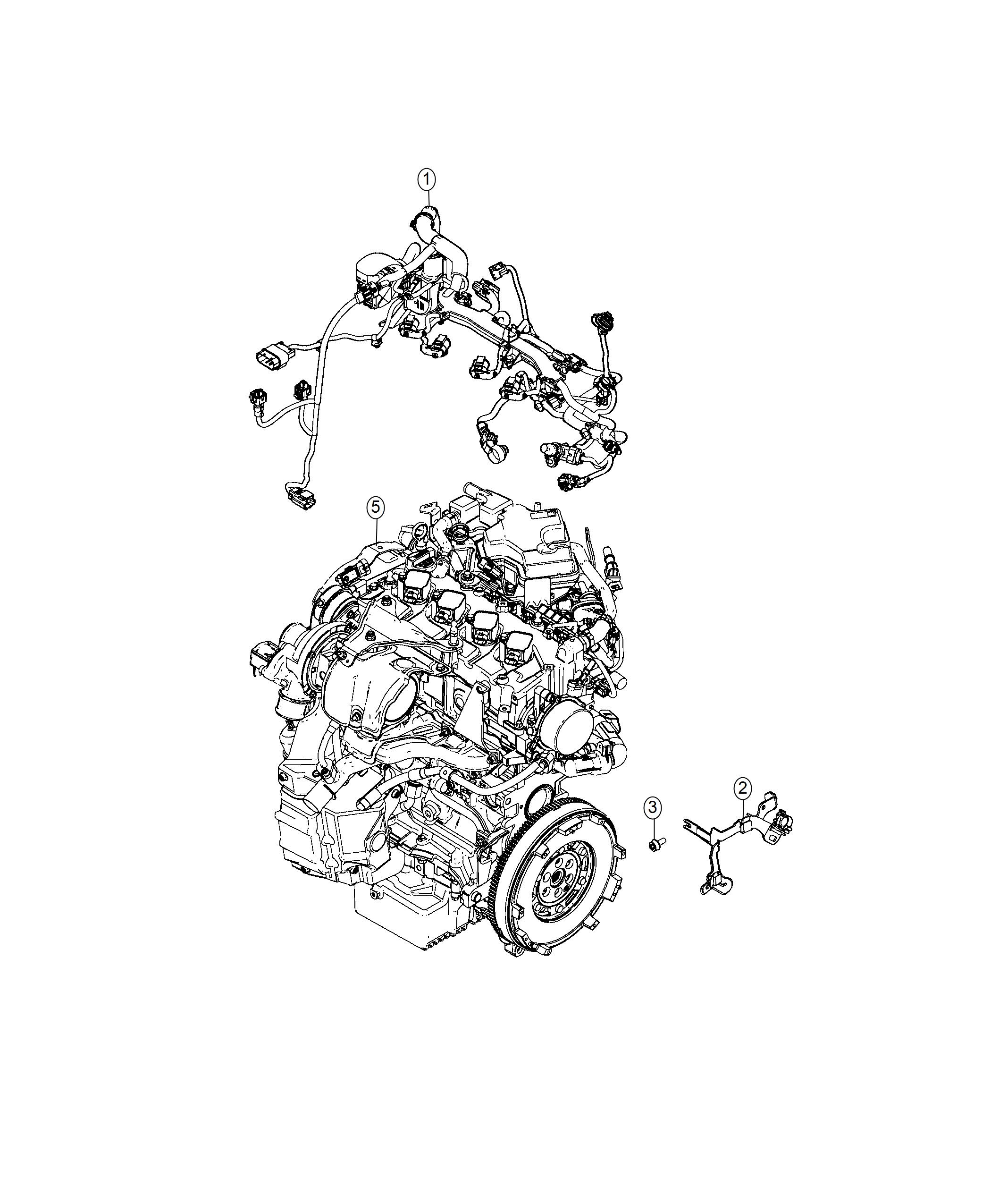 Fiat 124 Spider Bracket  Wiring Harness