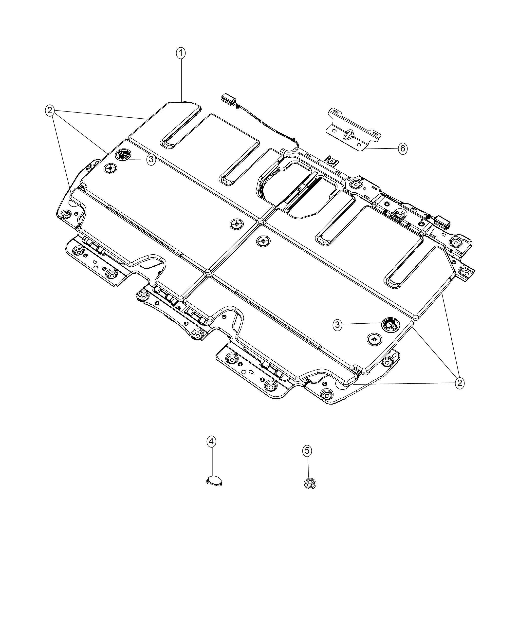 Chrysler Pacifica Bracket. Close-out. [easy Entry Slide