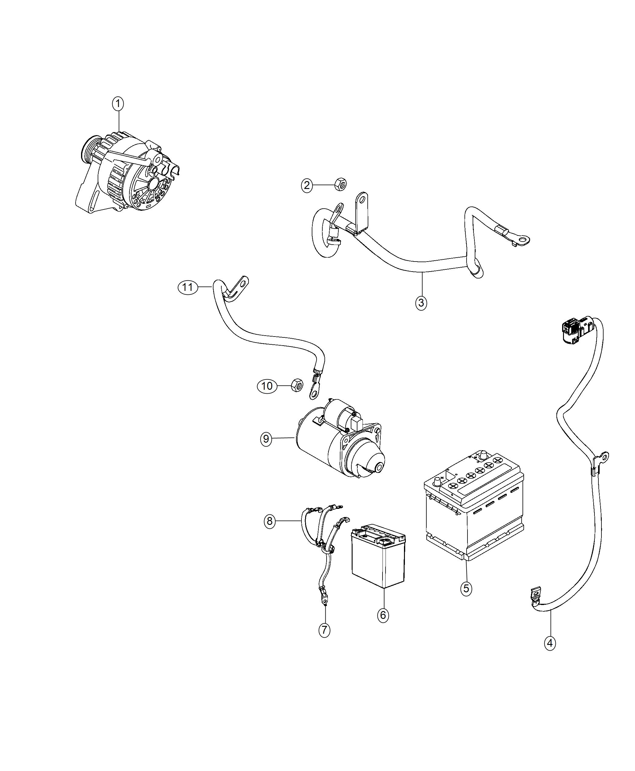 jeep compass wiring  battery negative   quick disconnect