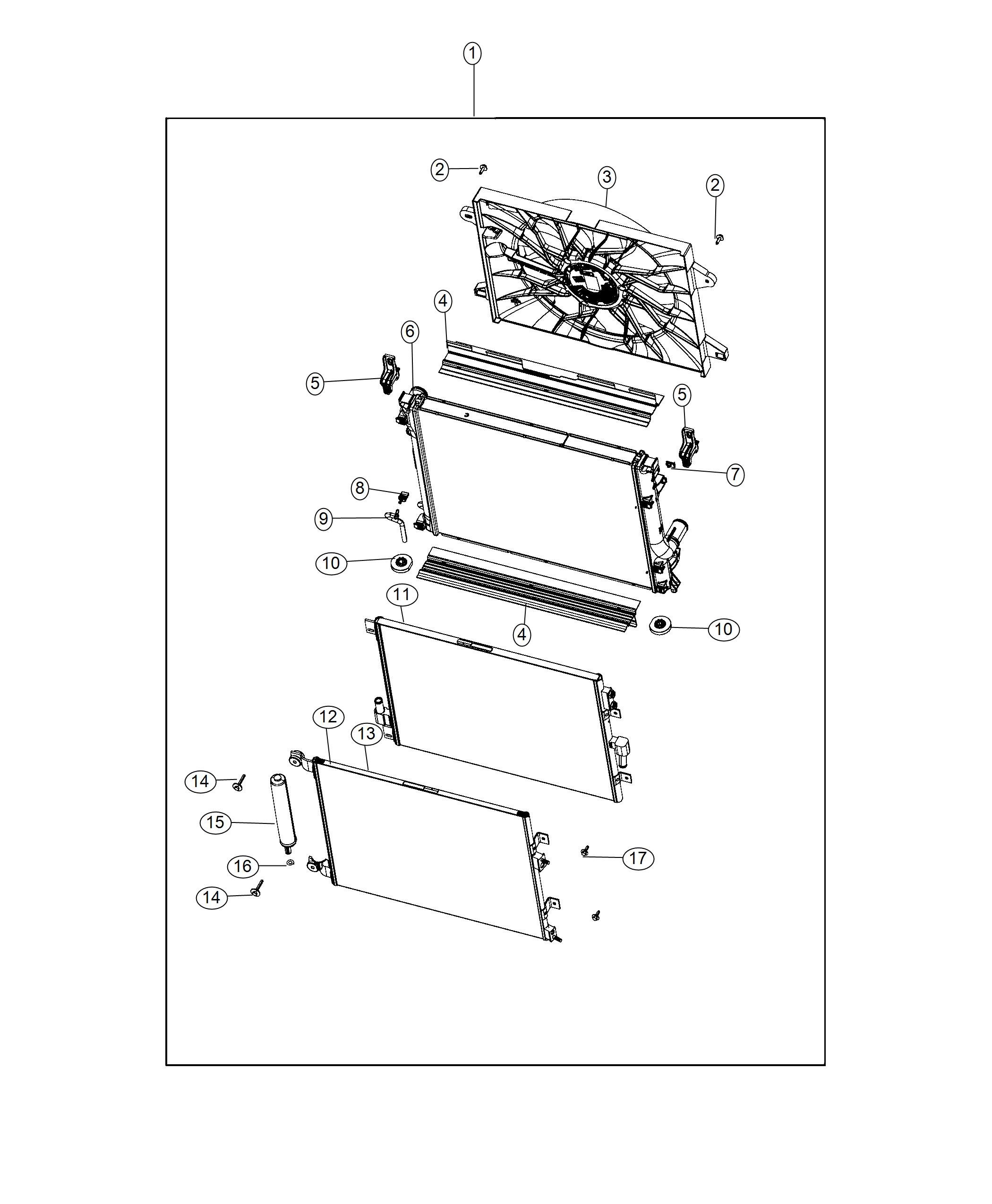 Dodge Challenger Cooler  Used For  Low Temperature And
