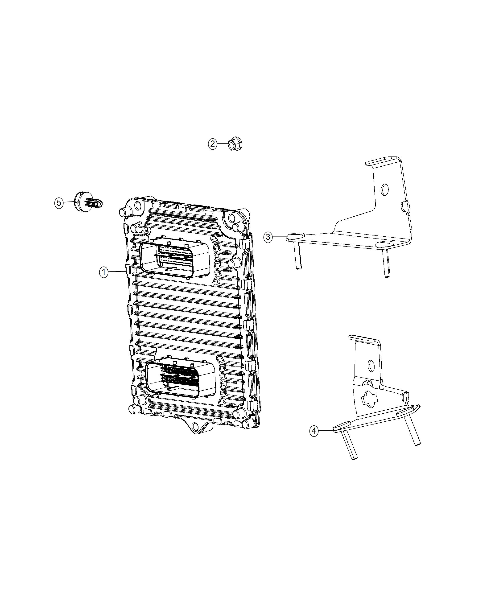Chrysler 300 Module  Engine Controller