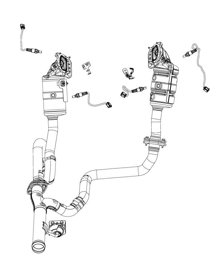 Jeep Wrangler Clip  Sensor  Sensors  Oxygen