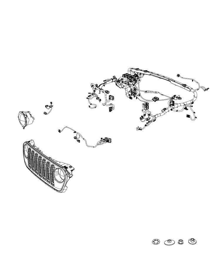 jeep wrangler wiring  dash