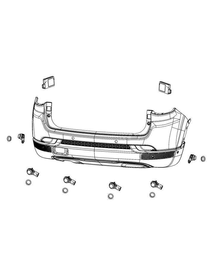 Jeep Compass Module  Blind Spot Detection