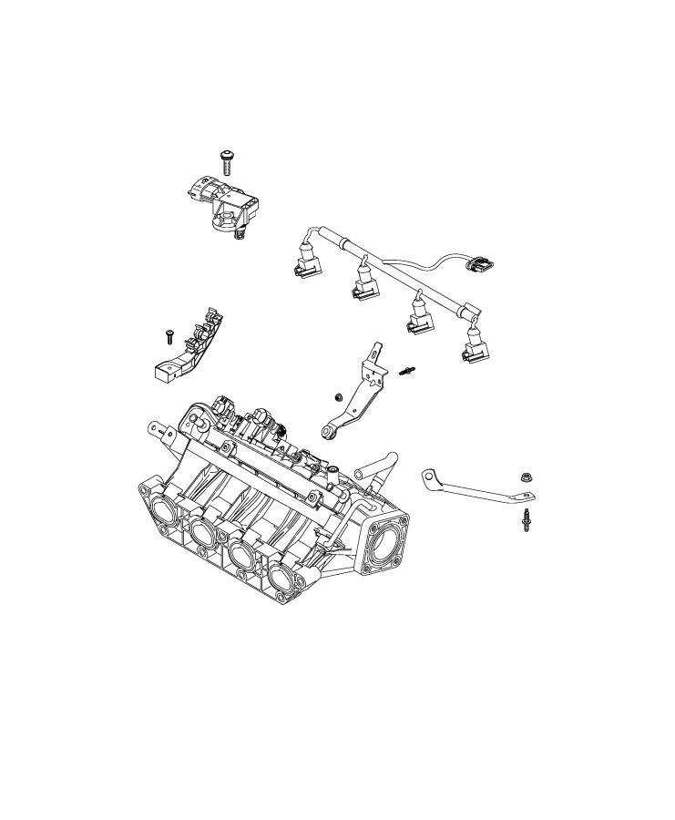 Fiat 500x Manifold  Intake