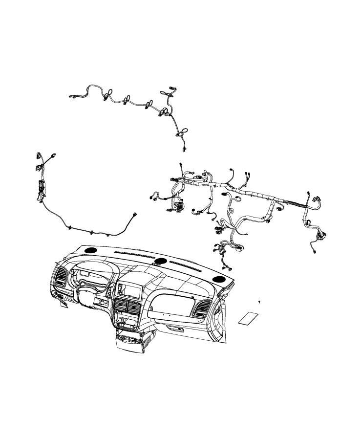 Dodge Grand Caravan Wiring  Instrument Panel   Instrument