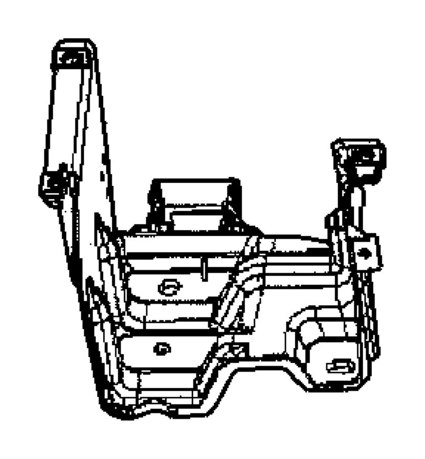 Chrysler Crossfire Bracket  Dash Panel Junction Box