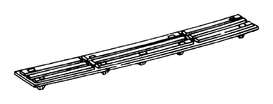 1995 jeep grand cherokee plate  scuff  rear bumper step