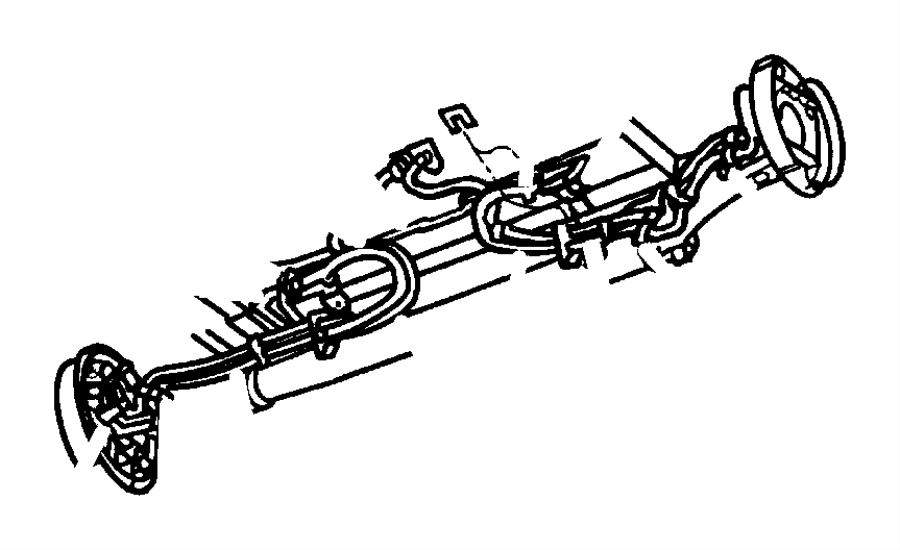 I on 2000 Dodge Caravan Brake Lines Diagram