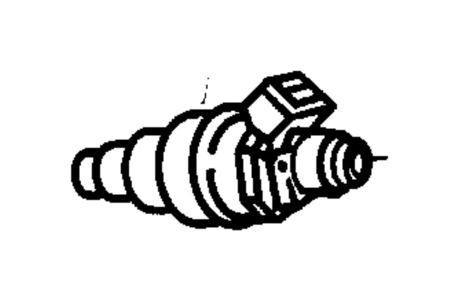 1996 dodge grand caravan injector  fuel  includes o-rings  rail  engine  egh