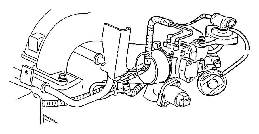 2000 dodge grand caravan valve  egr  engine  system  smpi