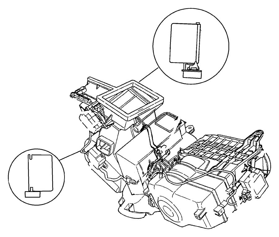 I on 1997 Dodge Intrepid Parts Diagram