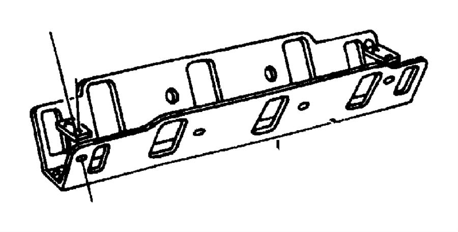1998 dodge grand caravan gasket  intake manifold to