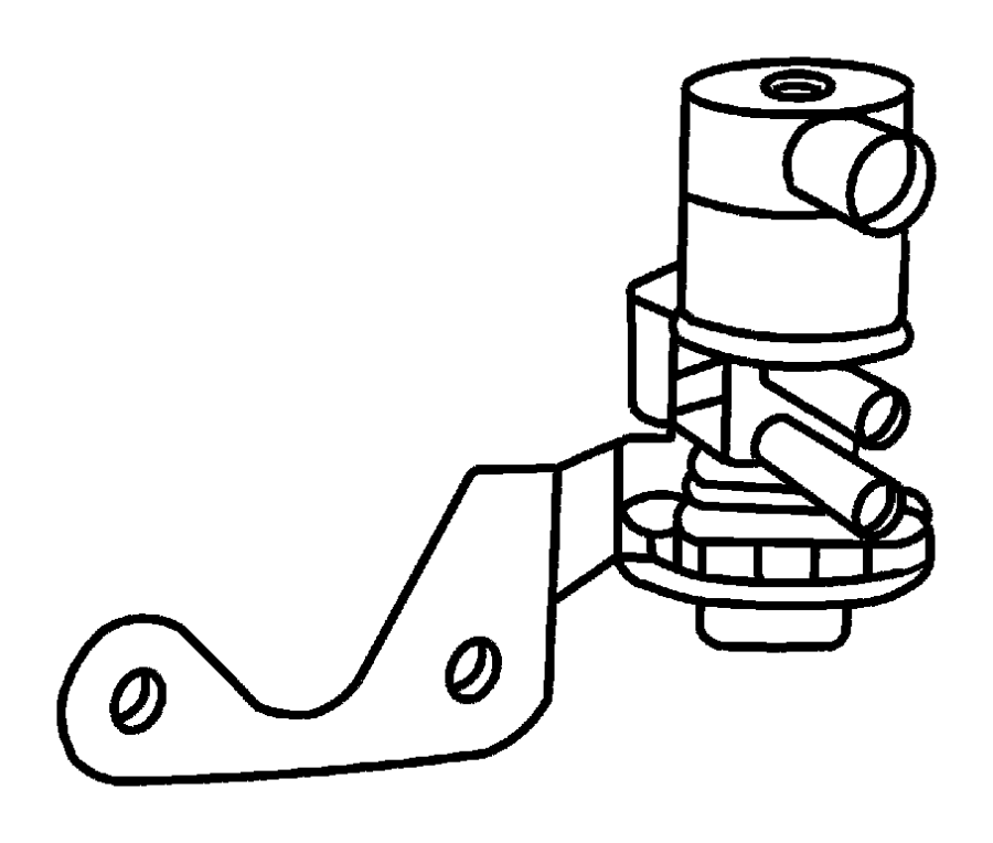 Dodge Dakota Solenoid  Duty Cycle Purge  Linear Purge