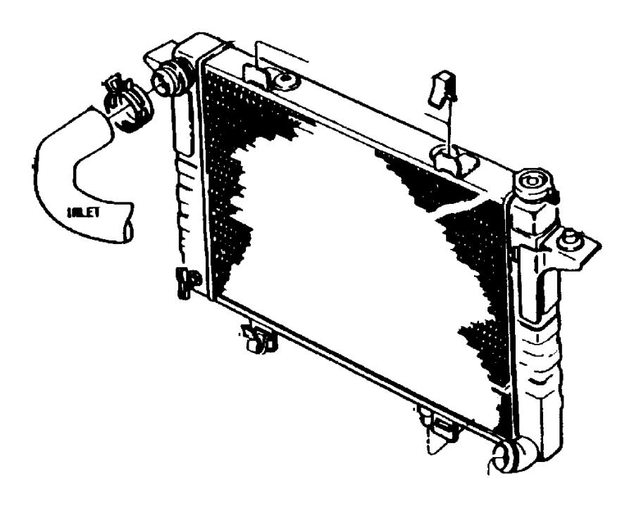 chrysler sebring radiator  engine cooling  related  diesel
