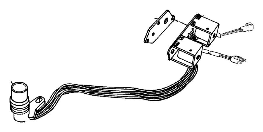 Dodge Ram 2500 Solenoid  Transmission Overdrive