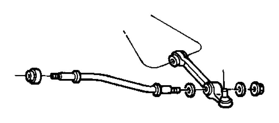 1997 Dodge Intrepid Arm  Control  Right  Lower  Suspension