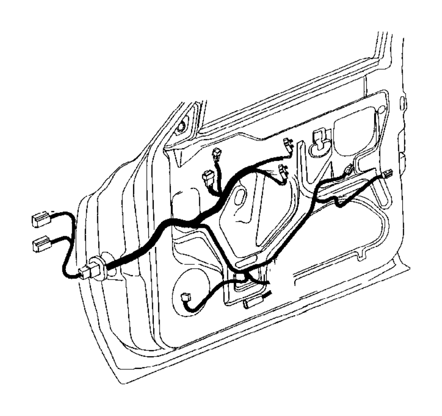 dodge ram 1500 wiring  door  power  windows  infinity