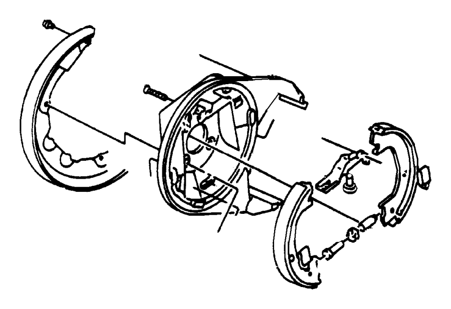 2003 Chrysler Concorde Nut  Parking Brake Adjusting  Right