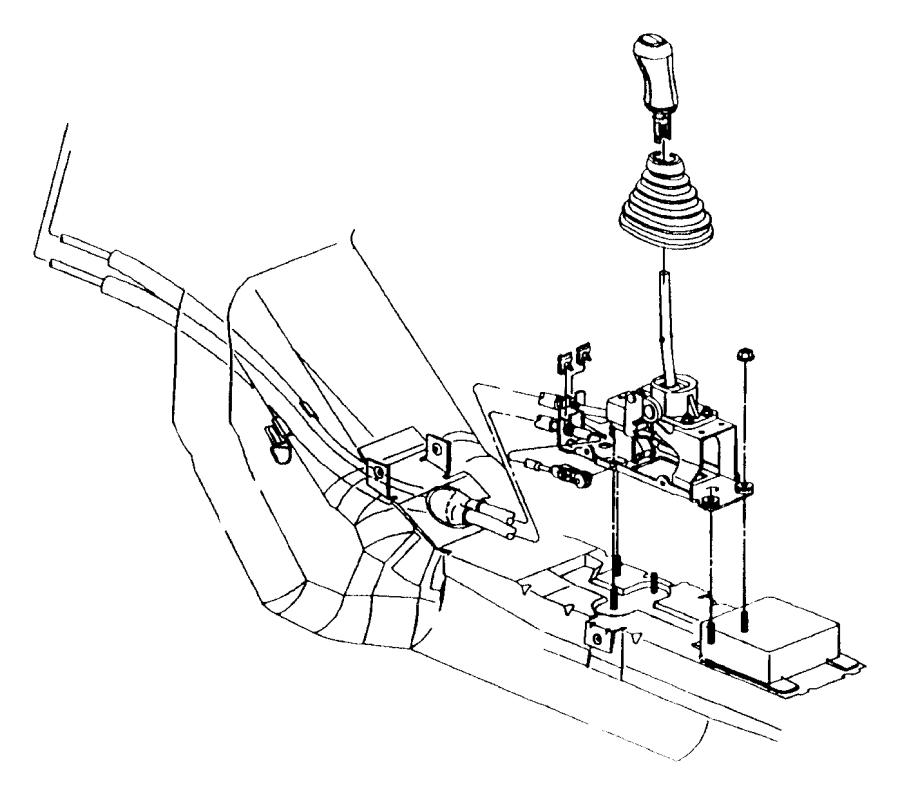 2012 dodge grand caravan shifter  transmission  rear  cylinder  engine
