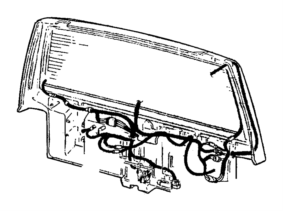dodge avenger wiring  liftgate  engine  cooling  duty