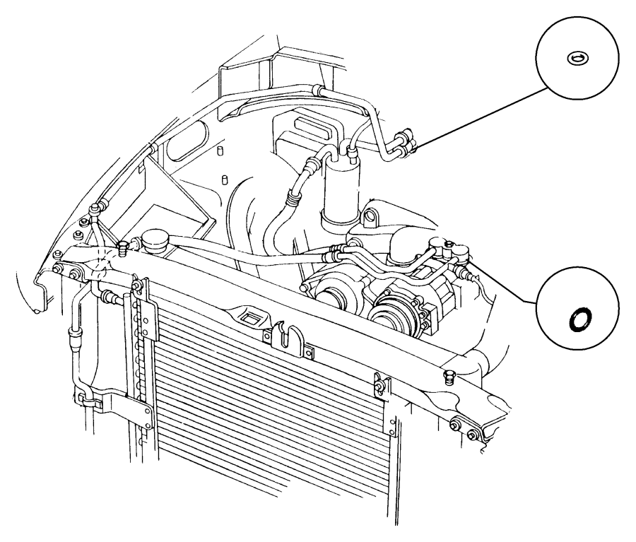 dodge ram 3500 condenser  air conditioning