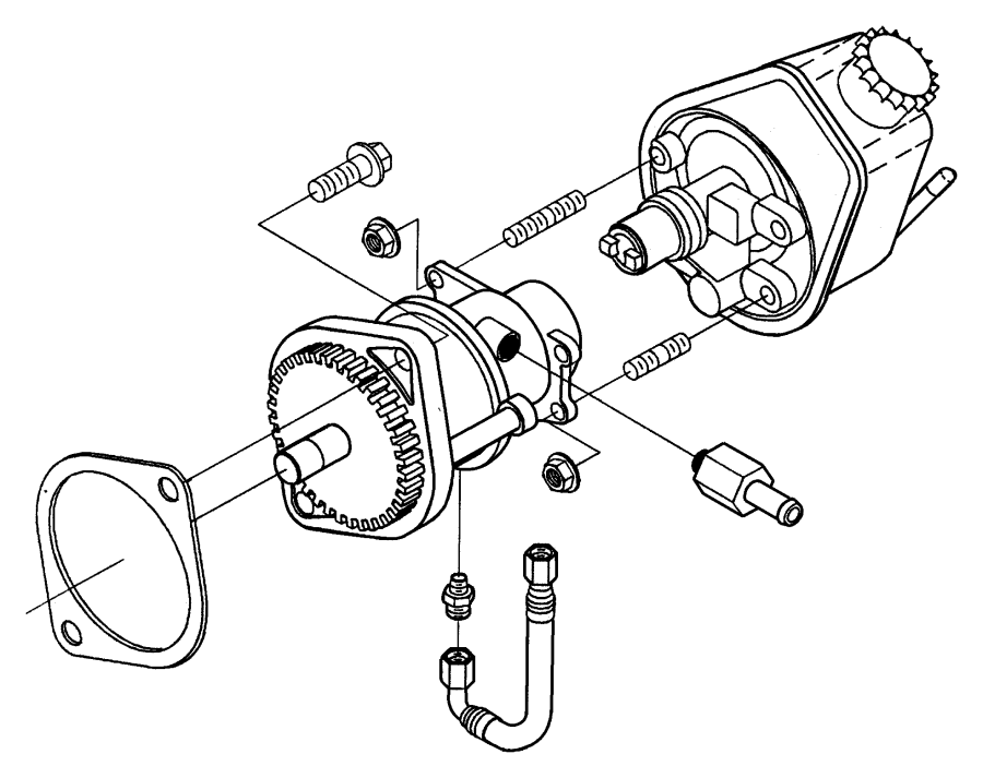 2001 Dodge Ram 2500 Cap  Power Steering Pump  Etb  Encore