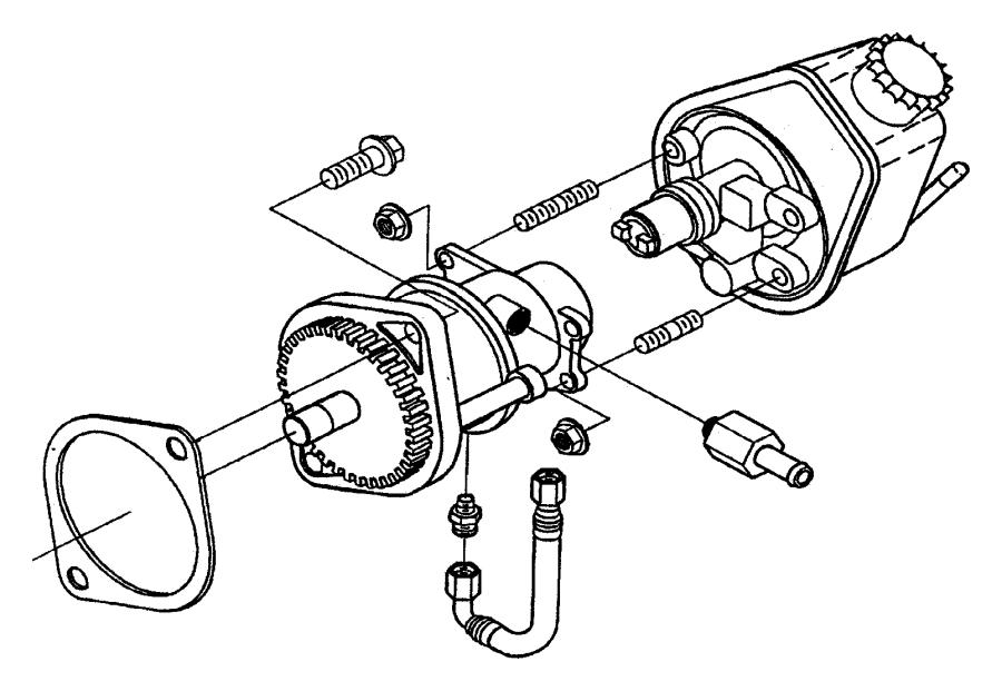 1999 dodge ram 3500 pump  vacuum  etb  emissions  diesel