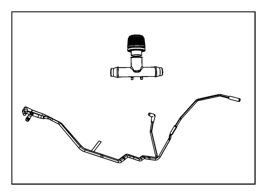 2005 chrysler pt cruiser harness  port  emission testing  proportional purge solenoid  filter