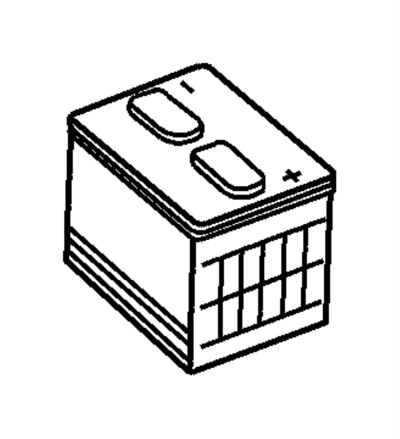 2004 Chrysler Sebring Battery. Storage. Amp, Maintenance