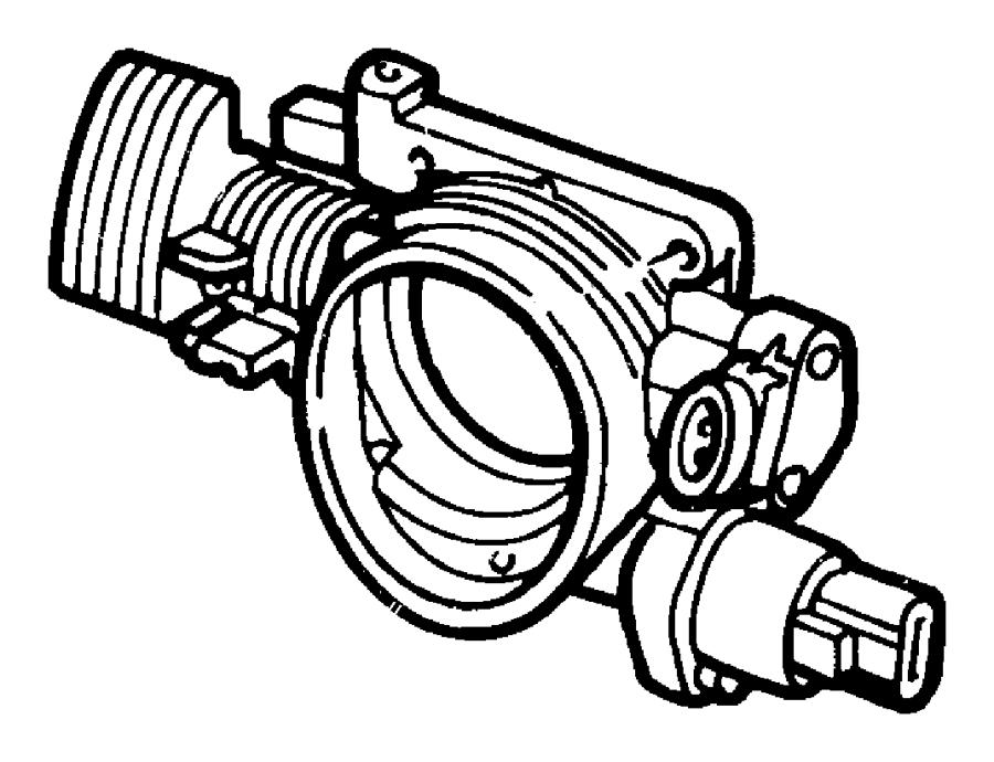 2004 Dodge Stratus Motor Motor Kit A I S Nzc