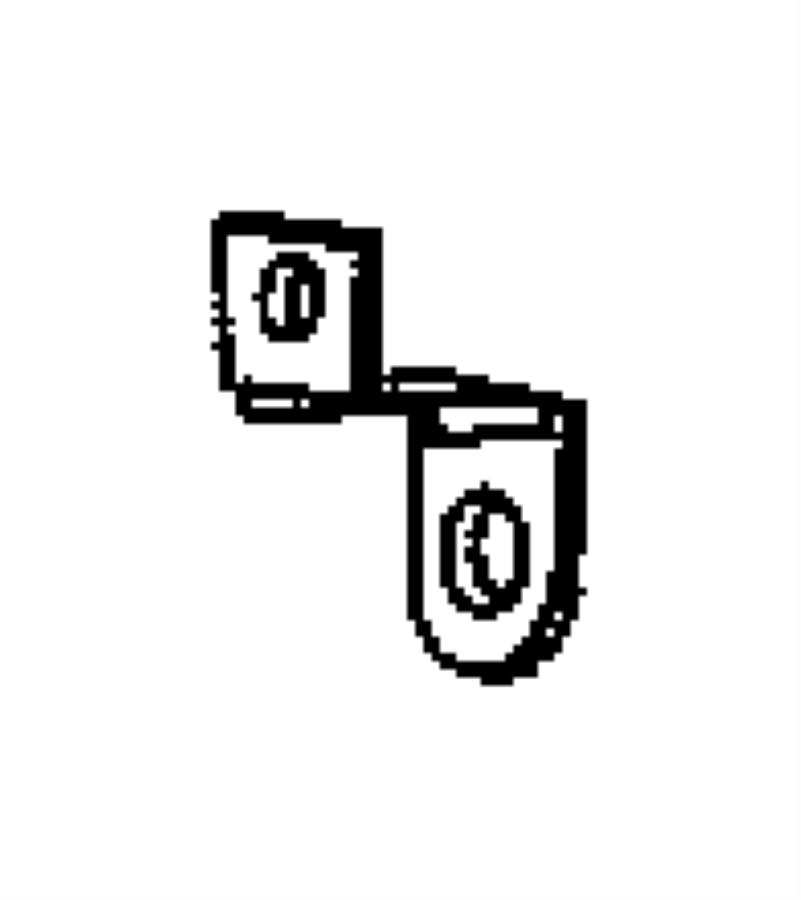 2002 chrysler sebring bracket  battery wiring  tube  vent tube  realted  pvent