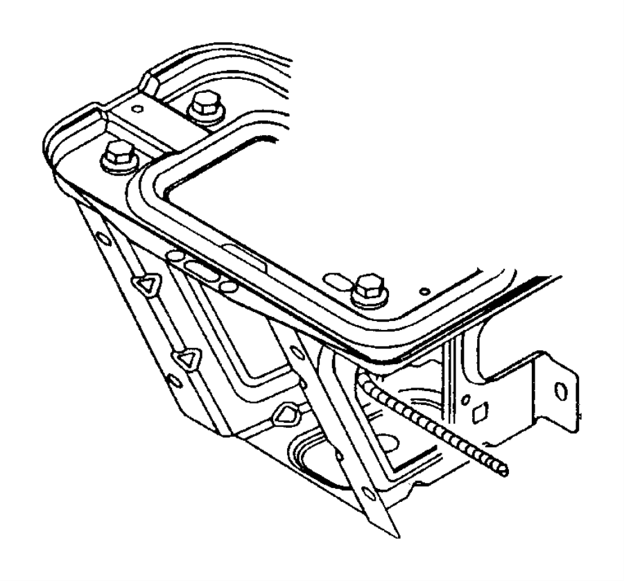 chrysler 200 used for  bolt and coned washer  used for  screw and washer  hex head