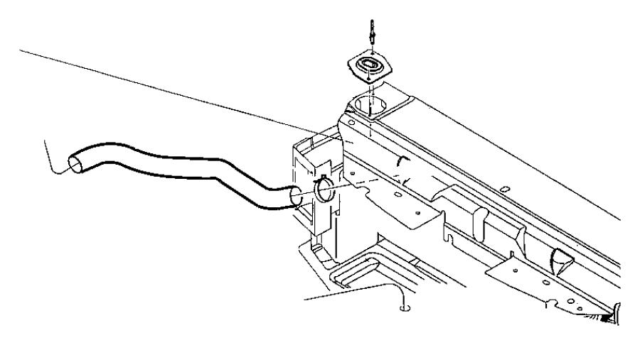 2001 Chrysler Lhs Hose  Radiator Inlet  Cooling