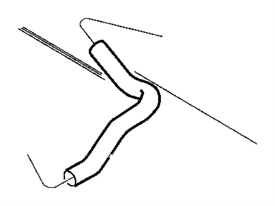 1999 Chrysler Concorde Hose  Radiator Outlet  Related