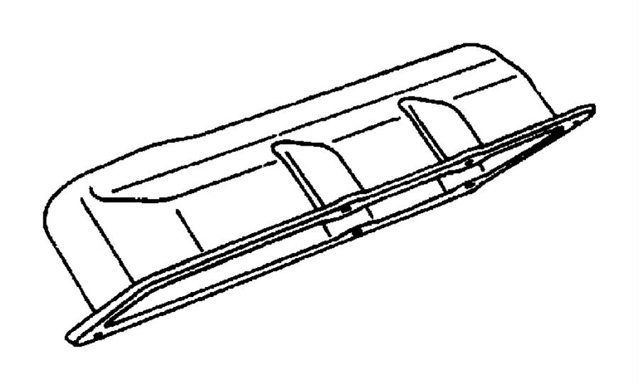 2005 dodge grand caravan hose  power steering reservoir  with clamps  limiters
