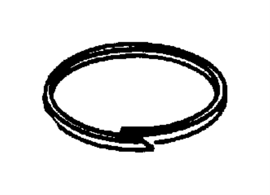 Dodge Challenger Piston Seal Outer 2nd And 4th