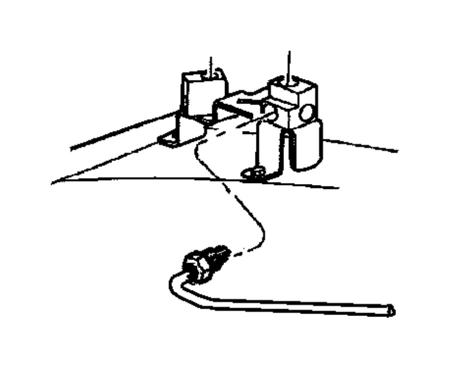 2002 dodge dakota block  brake line junction  brake line union