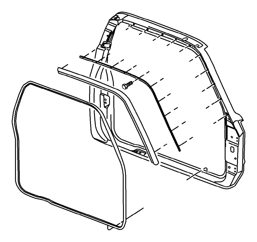 1997 Jeep Wrangler Interior Part Diagram