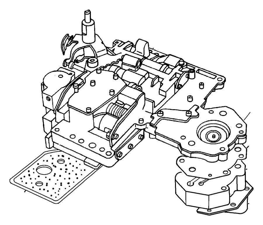 chrysler pacifica body  valve  transmission  spd