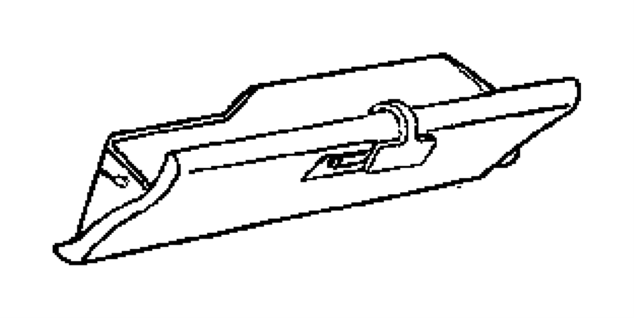 2005 dodge neon glove box  instrument panel  trim    o0