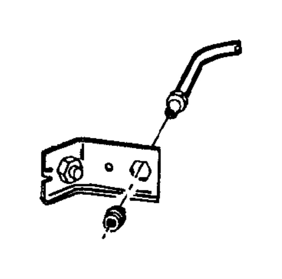 2001 dodge ram 3500 tube  brake  rear  hose  junction